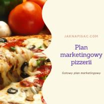 """Plan marketingowy pizzerii """"Fabiano"""""""