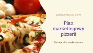 "Plan marketingowy pizzerii ""Fabiano"""