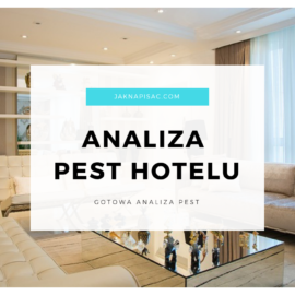 "Analiza PEST hotelu ""Bursztyn"""